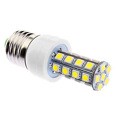 daiwl reglarea intensității luminii E27 6W 30xsmd5050 400-500lm 5500-6500k lumină albă naturală a condus bec de porumb (85-265v)