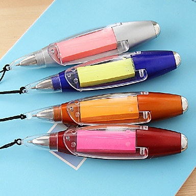 Pen Pen Ballpoint Pens Pen, Plastic Blue Ink Colors For School Supplies Office Supplies Pack of