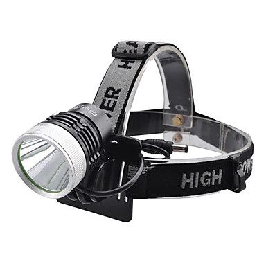 LED Flashlights/Torch Headlamps LED 1000 Lumens 4 Mode Cree XM-L T6 for Camping/Hiking/Caving Everyday Use Cycling/Bike Hunting