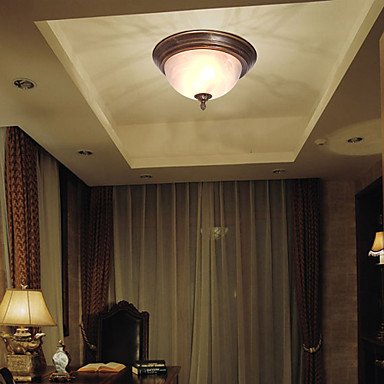 Flush Mount Ambient Light - Mini Style, 110-120V / 220-240V Bulb not included / 20-30㎡ / E26 / E27