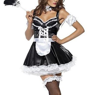 Costume menajeră Costume de carieră Costume Cosplay Costume petrecere Feminin Halloween Carnaval Festival / Sărbătoare Costume de