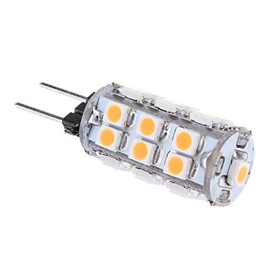 1W G4 LED-kolbepærer T 24 SMD 3528 80 lm Varm hvid Vekselstrøm 12 V