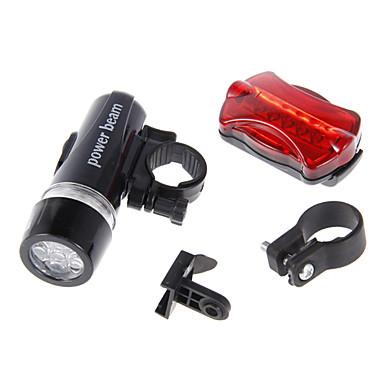 LED svítilny Zadní světlo na kolo Přední světlo na kolo LED Cyklistika Multifunkční Alarm Voděodolné AAA 100 Lumenů Baterie Cyklistika