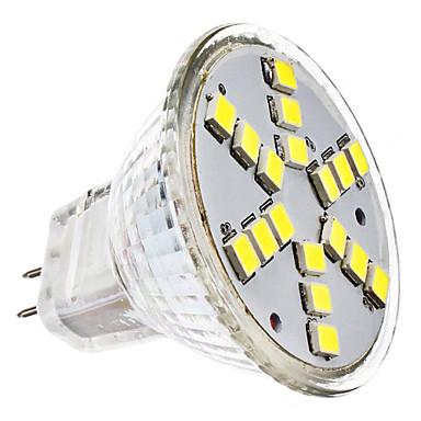 2W 6000 lm GU4(MR11) LED Spot Işıkları MR11 18 led SMD 2835 Serin Beyaz AC 12V DC 12V