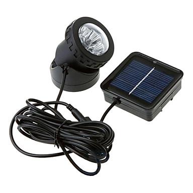 6-LED Vodotěsný bílé světlo Solární Spotlight Zahrada Venkovní lampy Flood (CIS-57157)