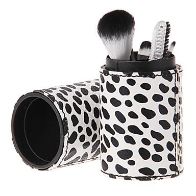 6pcs Profesyonel Makyaj fırçaları Fırça Setleri Diğer Fırça / Suni Fibre Fırça / Sentetik Saç Göz / 1 * Sünger Aplikatör / 1 * Göz Farı