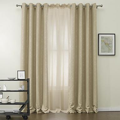 to paneler bud blad mørklægningsgardiner gardiner med lutter sæt