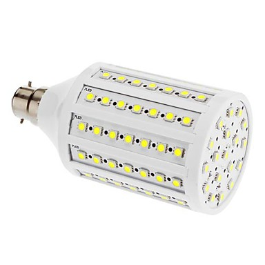 B22 20 W 102 SMD 5050 1600 LM Warm White / Cool White T Corn Bulbs AC 220-240 V