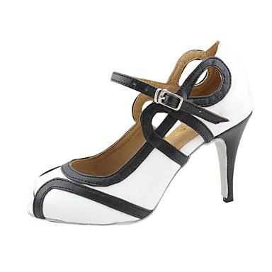 moda personalizate din imitație de piele pantofi pentru femei de dans superioare
