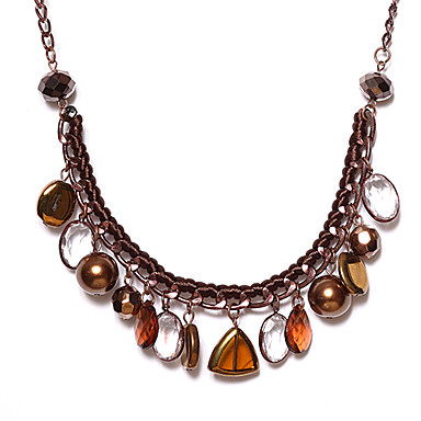 Damen Anhängerketten, Statement Ketten  -  Kreuz Modische Halsketten Für Alltag
