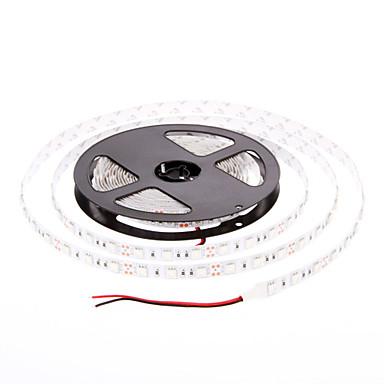 5M 60W 60x5050SMD 3000-3600LM Crveno svjetlo LED Strip svjetla (DC12V)