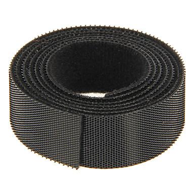 magisk tape sort 100m * 20mm til styring af ledning