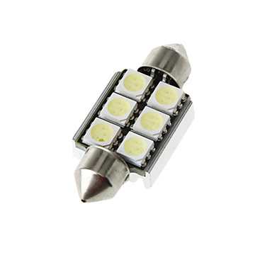 Araba Ampul Yüksek Performanslı LED 6 İç Işıklar