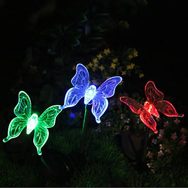 Bahçe Işıklar LED'ler LED Şarj Edilebilir / Su Geçirmez / Dekorotif 1pc