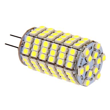 G4 LED-kolbepærer T 118 leds SMD 5050 Kold hvid 400lm 5500-6500K Jævnstrøm 12V