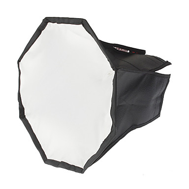 Octangle skládací Speedlight Flash Soft Box (Black + Silver, M-Size)