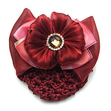Cristal Ștras Flanelă Material Textil Aliaj Diademe agrafa 1 Nuntă Ocazie specială Party / Seara Casual Diadema