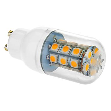 5 Вт. 450-550 lm GU10 E26/E27 LED лампы типа Корн 27 светодиоды SMD 5050 Тёплый белый Холодный белый AC 85-265V
