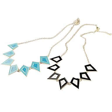 Geometric Personalized Statement Jewelry Fashion European Choker Necklace Statement Necklace Alloy Choker Necklace Statement Necklace ,