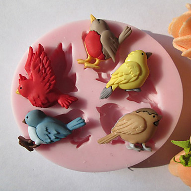 Mold Animal For Pie For Cookie For Cake Silicone Eco-friendly DIY High Quality