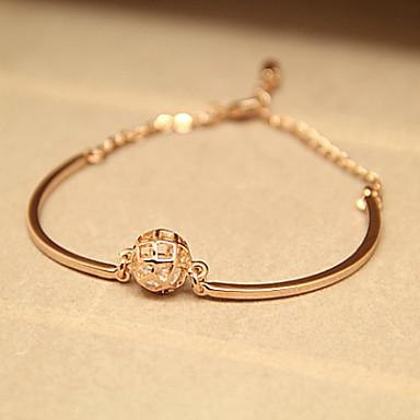 Women's Loving Bollow-carved Ball Bracelet