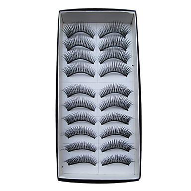 Kirpik Takma Kirpiker 20 pcs Hacimlendirilmiş / Bukle / Ekstra Uzun Kirpik Klasik Günlük Makyaj Kozmetik