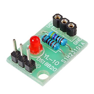 New temperatură DS18B20 Senzor Shield fără DS18B20 Chip