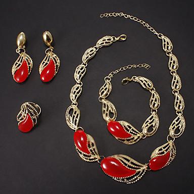 Dame Seturi de bijuterii Modă de Mireasă Nuntă Petrecere Ocazie specială Zi de Naștere Ștras Diamante Artificiale Aliaj Inele Σκουλαρίκια