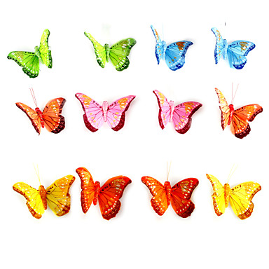 Wedding Party Mixed Material Wedding Decorations Butterfly Theme / Classic Theme Spring Summer All Seasons
