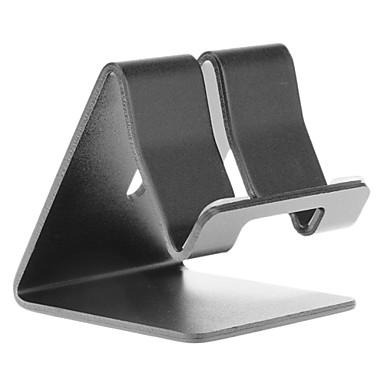 Aluminium Metal Desk Stand Holder for Universal Mobile Phone(Black)