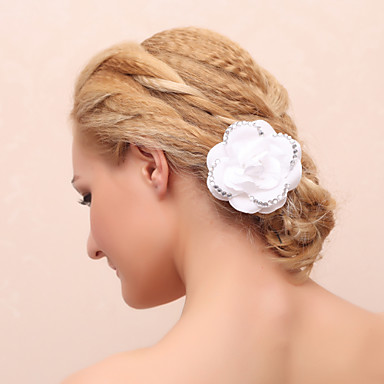 Stoff Blumen Kopfschmuck Hochzeitsgesellschaft elegant klassisch femininen Stil