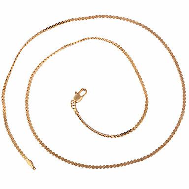 Xinxin Dámská 45cm 18K Gold Zircon náhrdelník XL0022