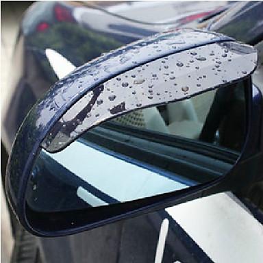 2X Auto-Rückspiegel Regen Wasser Augenbrauen Titelseitenschutz