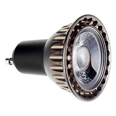 400 lm GU10 LED bodovky 1 lED diody COB Teplá bílá AC 85-265V