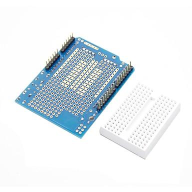 Prototyp Schild + Mini-Steckbrett für (für die Arduino) (funktioniert mit offiziellen (für Arduino) Platten)