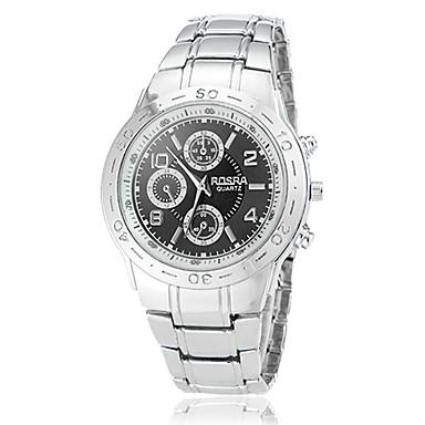 Pánské Náramkové hodinky Vojenské hodinky Křemenný Slitina Kapela Stříbro