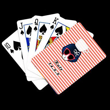 Personalisierte Geschenke Pink Beauty Pattern-Spielkarte
