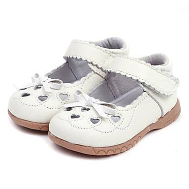 Læder Girls 'Flat Heel Mary Jane Flats Shoes (flere farver)