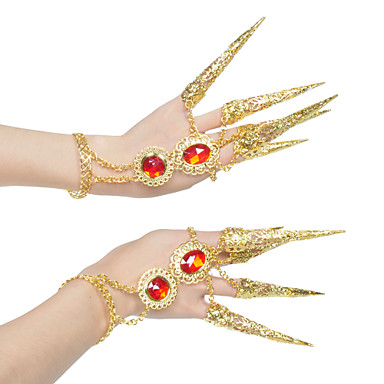 Dance Accessories Jewelry Women's Performance Metal Elegant Style