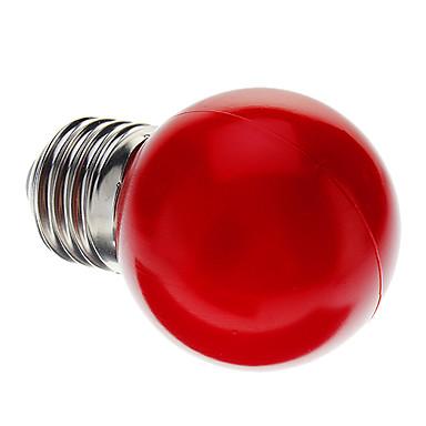 0.5W lm E26/E27 LED okrugle žarulje G45 7 LED diode Dip LED Ukrasno Crveno AC 220-240V