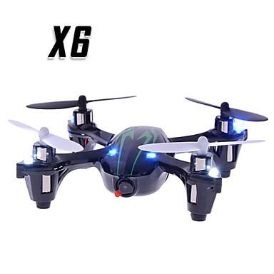 RC Dron X6 4Kanály 6 Osy 2.4G S HD kamerou RC kvadrikoptéra RC Kvadrikoptéra / Dálkové Ovládání