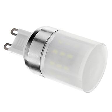 g9 condus lumina reflectoarelor 48smd smd 3014 280lm rece alb 6000k ac decorativ 220-240v