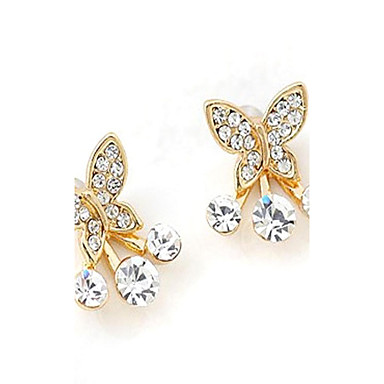 Pentru femei Ștras Aliaj Animal Bijuterii Auriu Costum de bijuterii