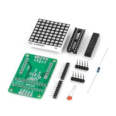 diy MAX7219 rote LED Dot-Matrix-Display-Modul für (für die Arduino) (funktioniert mit offiziellen (für Arduino) Platten)