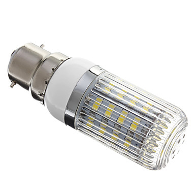 350lm B22 LED Corn Lights 36 LED Beads SMD 5730 Dimmable Cold White 220-240V