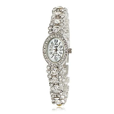 Dámské Módní hodinky Náramkové hodinky japonština Křemenný Kapela Stříbro Zlatá Zlatá Stříbrná