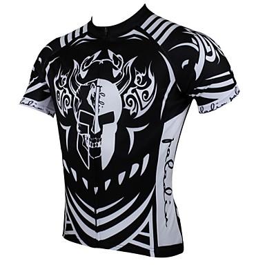 ILPALADINO Cyklodres Pánské Krátký rukáv Jezdit na kole Dres Vrchní část oděvu Cyklistické oblečení Rychleschnoucí Odolný vůči UV záření