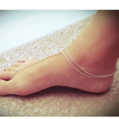shixin® europene femei deget de la picior Connect aliaj sori (10cm * 8 cm * 2 cm) (de aur, argint) (1 buc)