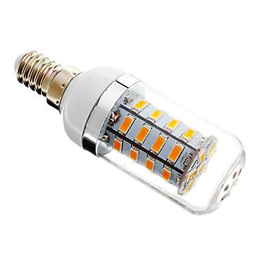 E14 G9 B22 E26/E27 LED Λάμπες Καλαμπόκι T 36 leds SMD 5730 Με ροοστάτη Θερμό Λευκό Ψυχρό Λευκό 300lm 2700-3500K AC 220-240V