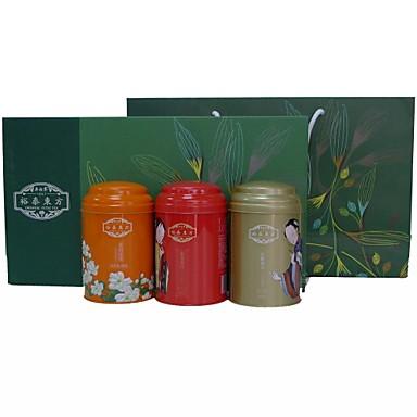Wu Yu Tai ® Narural Null-Kalorien-Loose Leaf Tea, Tin Cans Drei in einem Geschenkboxen